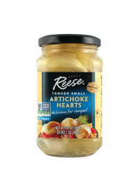 Artichoke Small Hearts in glass jar